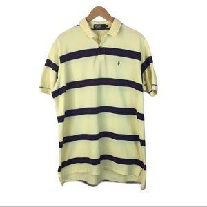 Polo by Ralph Lauren yellow striped polo shirt